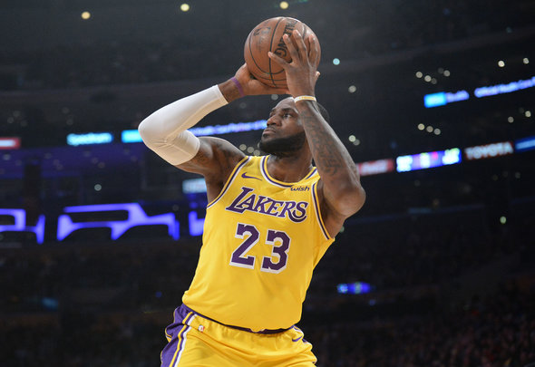 factory authentic c406f bcea4 Wow' - NBA Superstar LeBron James sends message to Liverpool ...